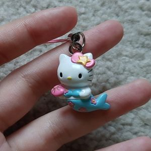 ♓Hello Kitty Keychain for Phone Pisces Mermaid
